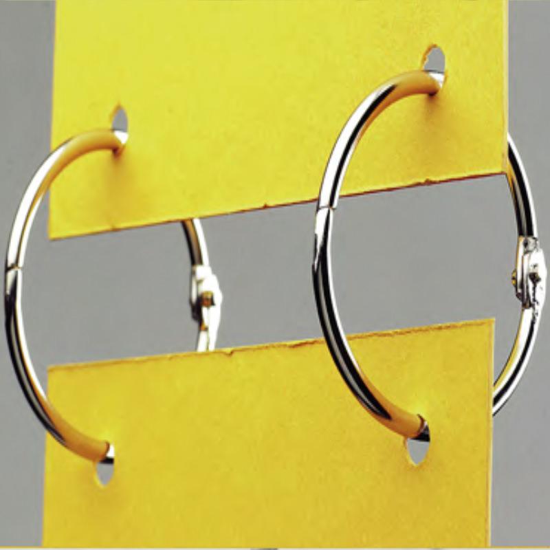 Metal Clasp Ring