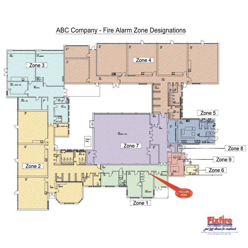 Fire Alarm Zone Designations