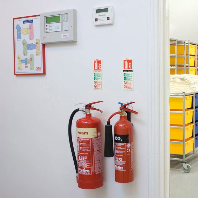 Fire Extinguishers -Montly Check