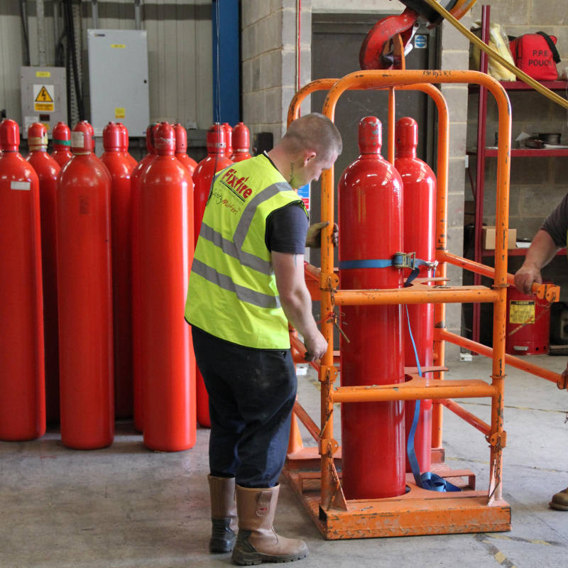 Fire Suppression Installation