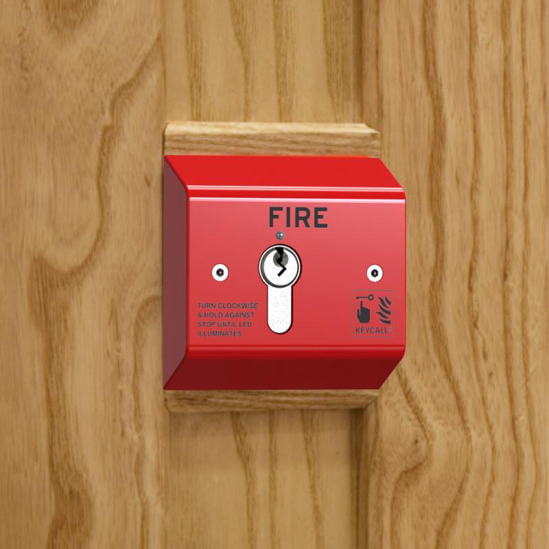 KeyCall® Fire Semi Flush