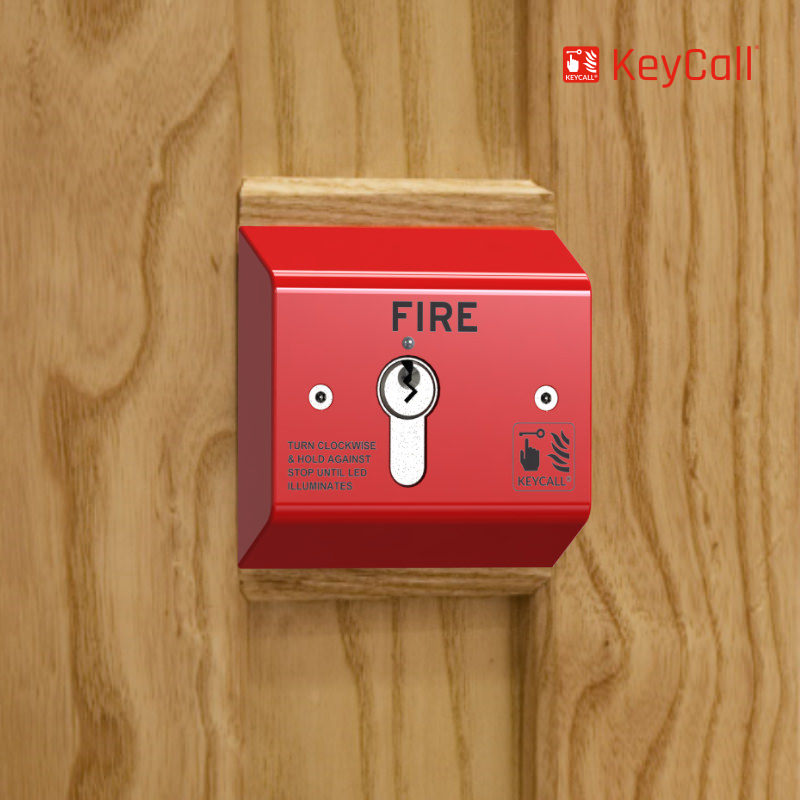 KeyCall® Fire Semi Flush