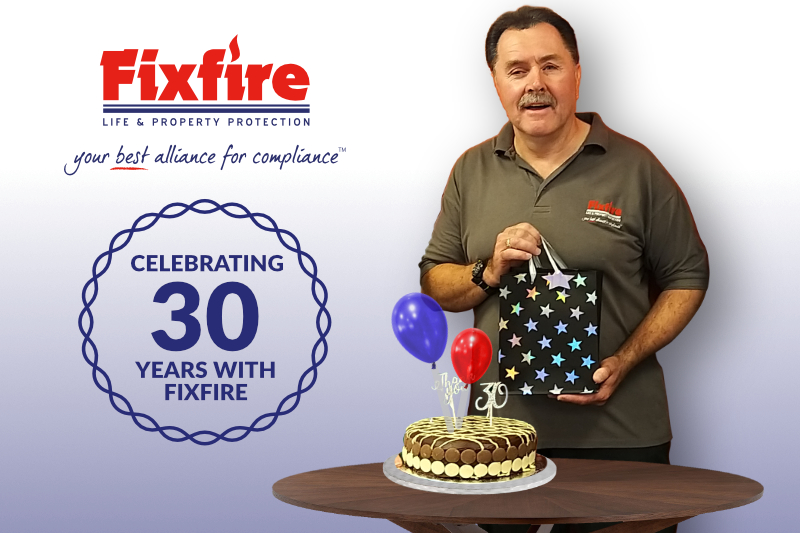 Philip Wilson - celebrating 30 Years at Fixfire®
