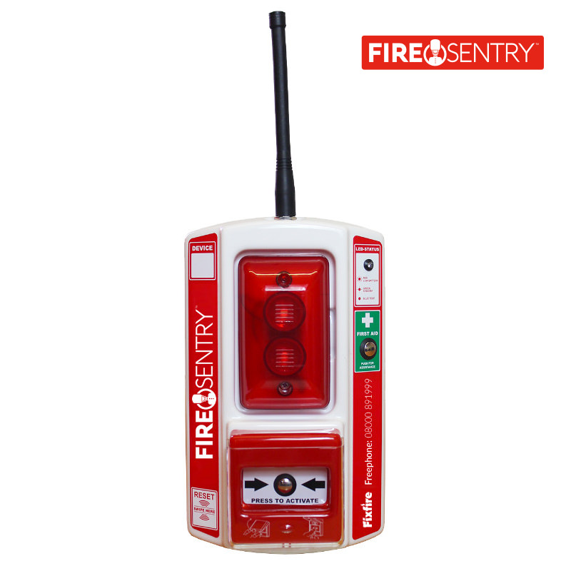 Fire Sentry Wireless Call Point with First Aid Function