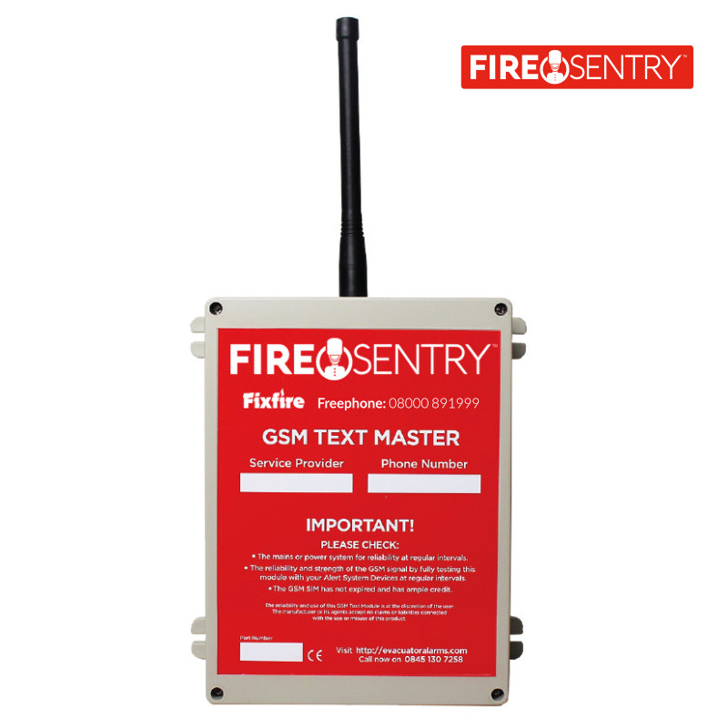 "Fire Sentry GSM ""Text Master"""