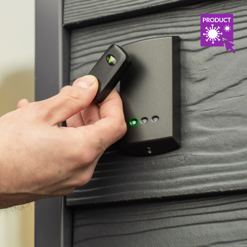 Proximity Reader with Fob Access