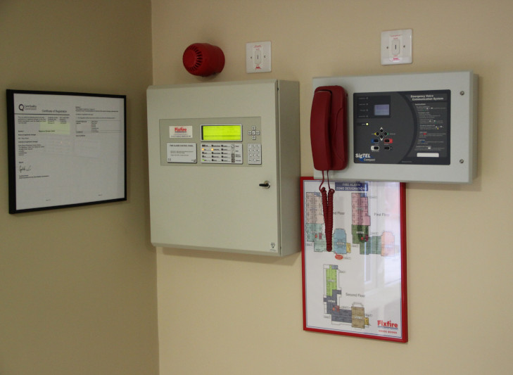 ADV Range Fire Alarm Control Panel & Disabled Refuge Master Panel
