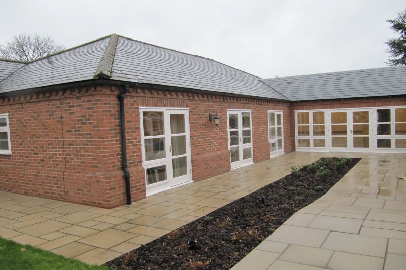 Rear extension wing- Northgate Healthcare - Lane House Care Home Nurse call