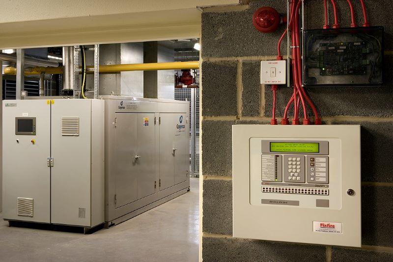 Boiler Room Fire Equipment