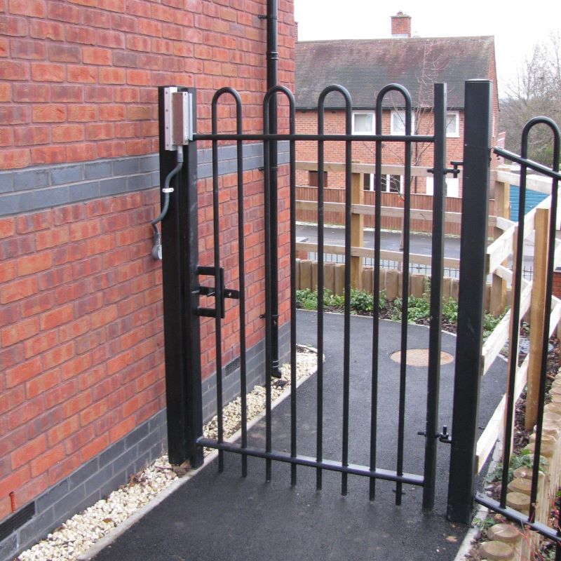 CareGard fitted to Metal Gate