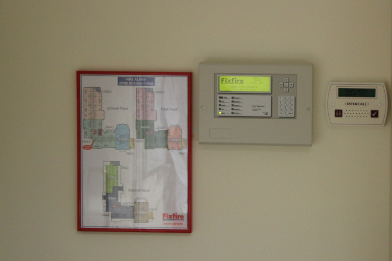 ADV Range Repeater Panel with Zone Chart & Nurse Call System - CareAlert 600 Display Unit