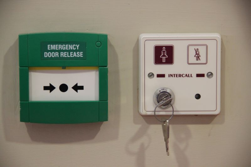 Emergency Door Release Call Point & Care Door