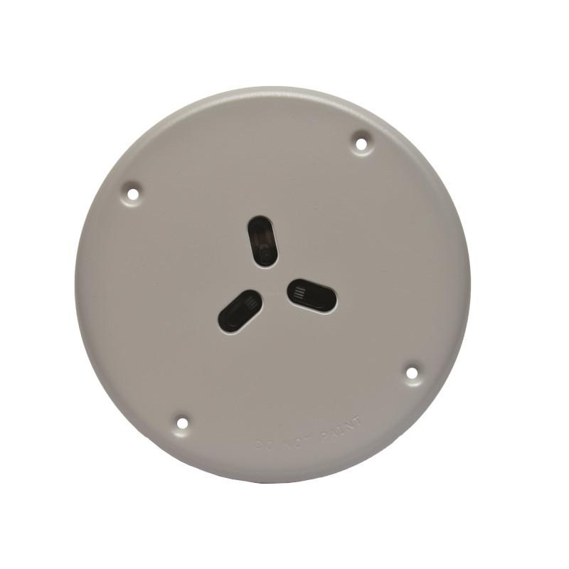 Flush Optical Fire Detector Anti Vandal