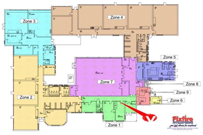 Fire Alarm Zone Designations