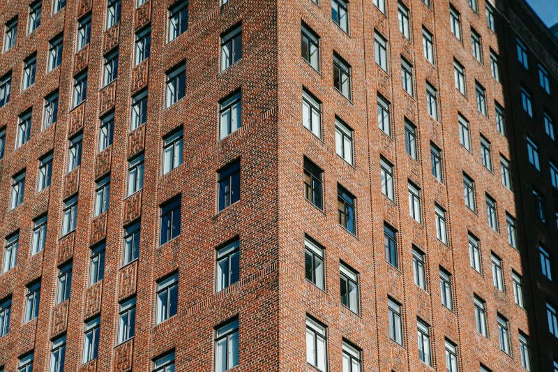 Purpose-built blocks of flats