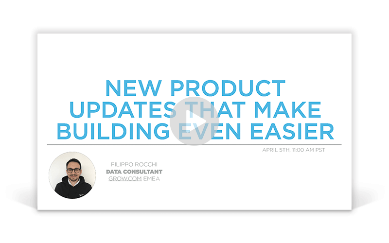 New Product Updates that Make Building Even Easier