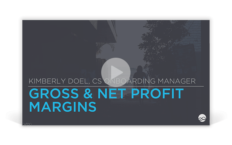 Metric of the Week: Gross Profit Margin vs Net Profit Margin