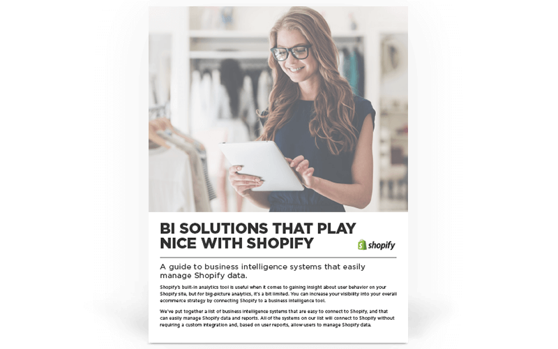 BI Solutions that Play Nice With Shopify