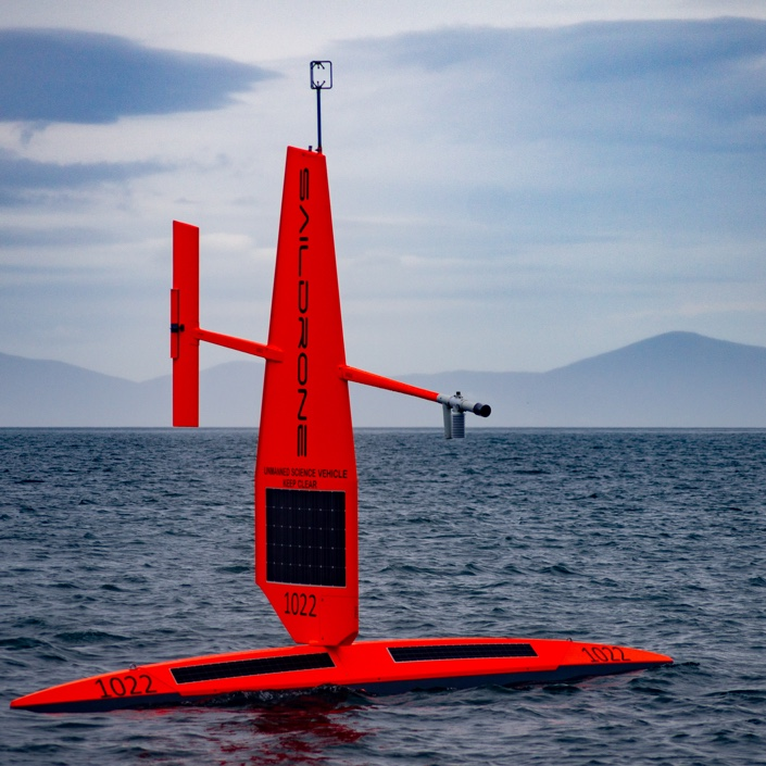 Saildrone Fleet Launches in New Zealand on Epic Journey