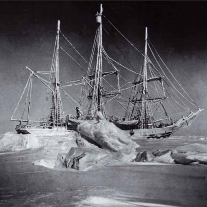 120 Years Separate These Two Antarctica Expeditions