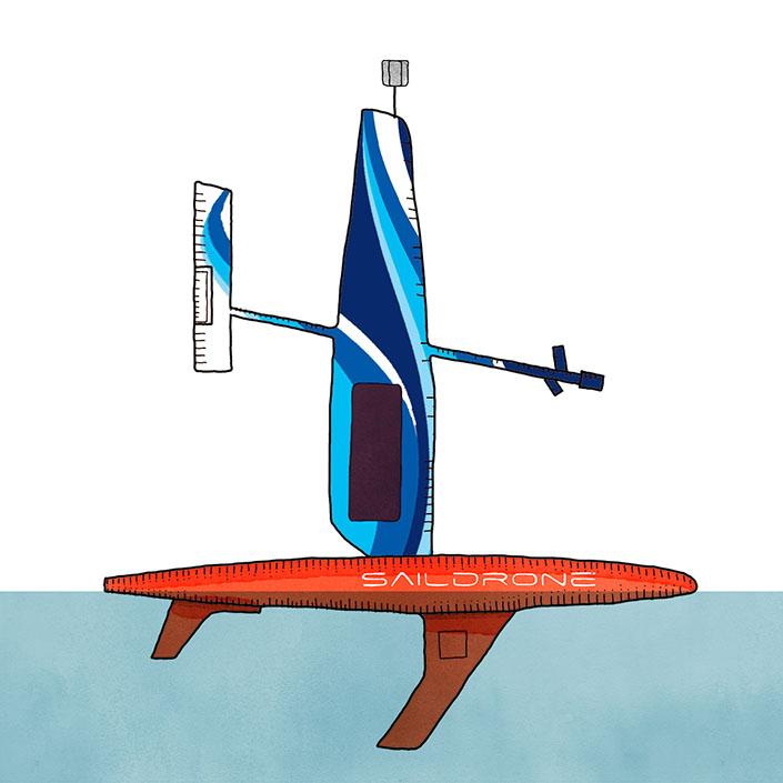 Design a Saildrone Wing & Win a Trip to Saildrone HQ!