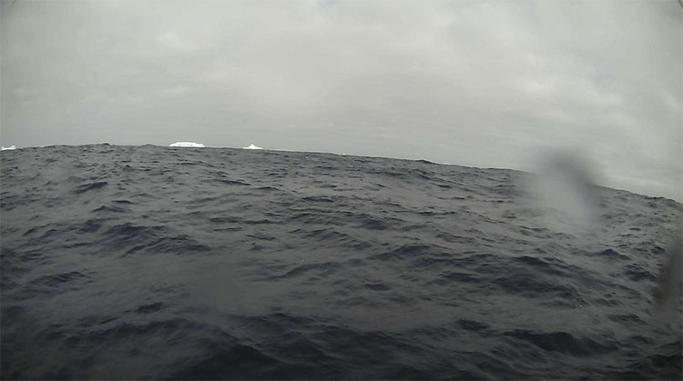 Saildrone camera iceberg Southern Ocean