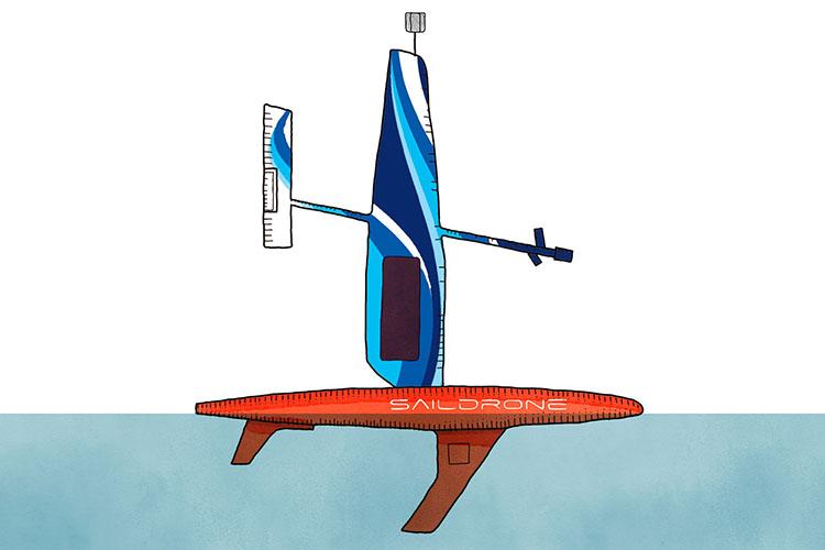 Saildrone wing design contest