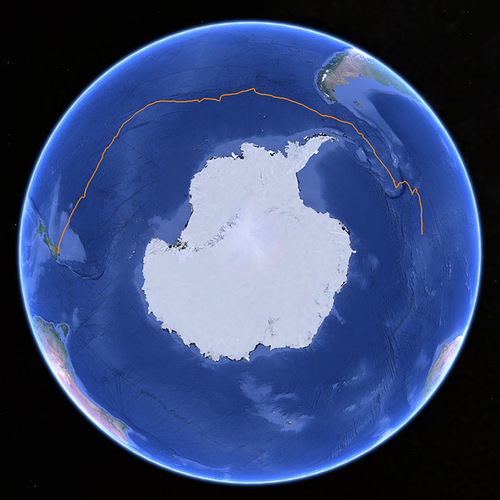 100 Days in the Southern Ocean