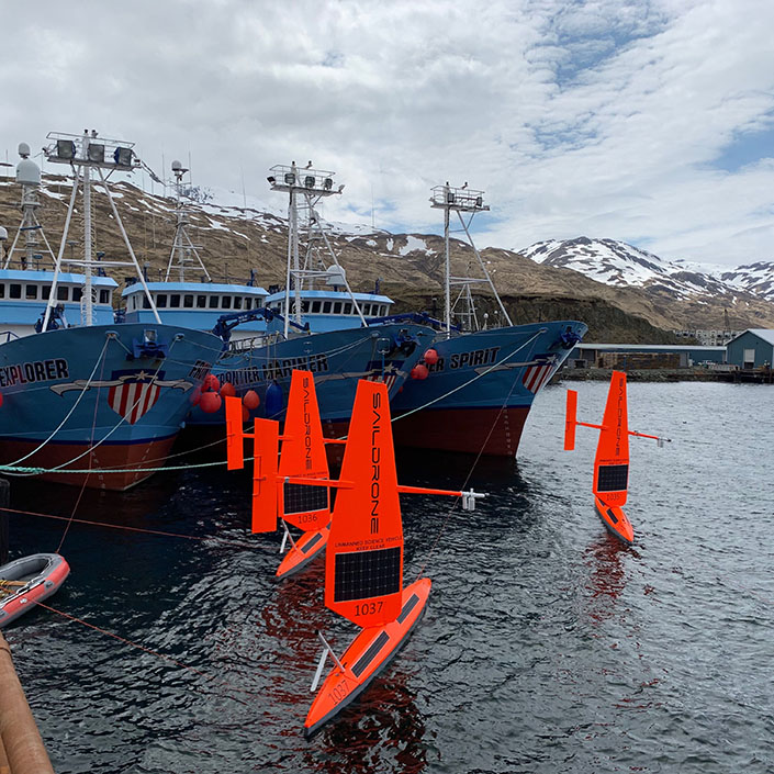 Largest Saildrone Fleet Ever Launches 5th Annual Arctic Mission