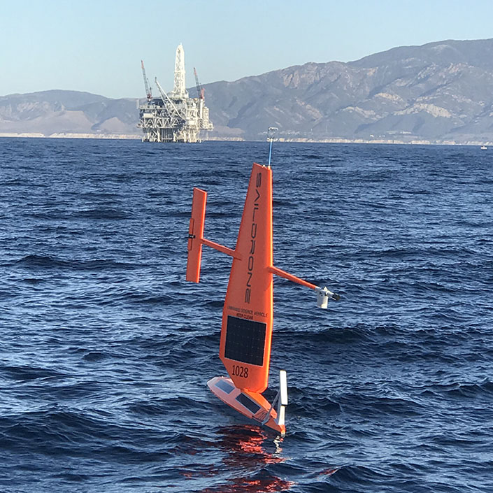 Pacific Mission Demonstrates USV Capability to Detect Oil Spills