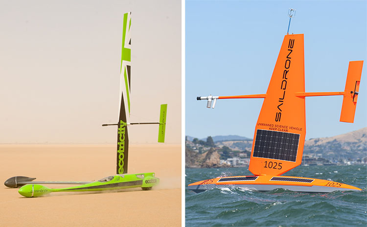 Greenbird and Saildrone