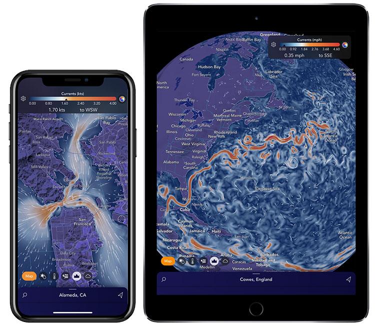 Saildrone Forecast global current models