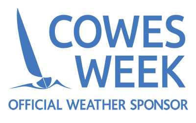 Cowes Week Official Weather Sponsor Saildrone Forecast