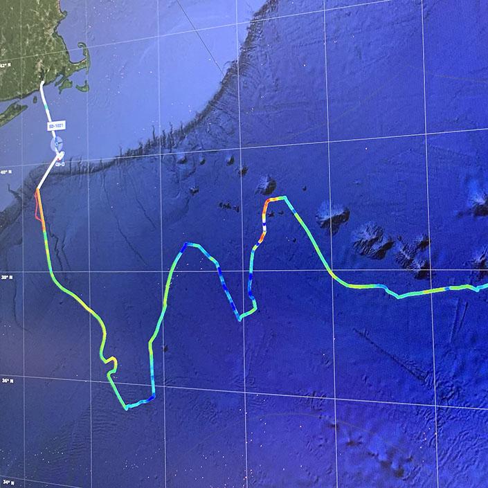 Saildrone Gulf Stream Data Set Available on EMODnet