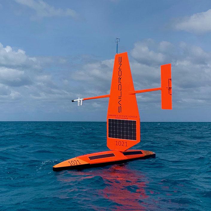 Saildrone at OceanObs'19