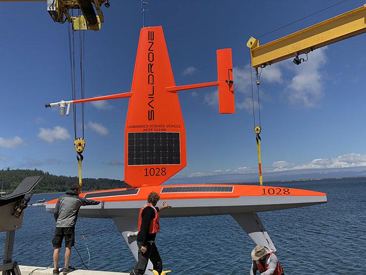 saildrone deployment