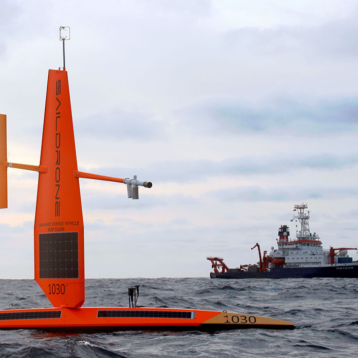 Surveying Ocean Eddies: Hot Spots of Biological Productivity