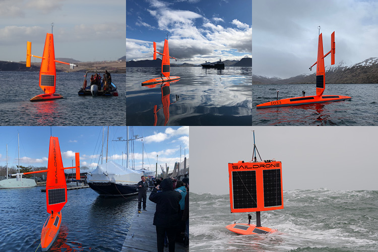 Saildrones equipped with NOAA PMEL ASVCO2 sensor