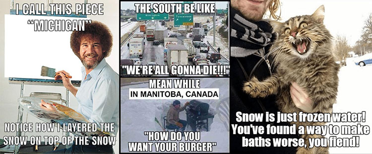 snow memes