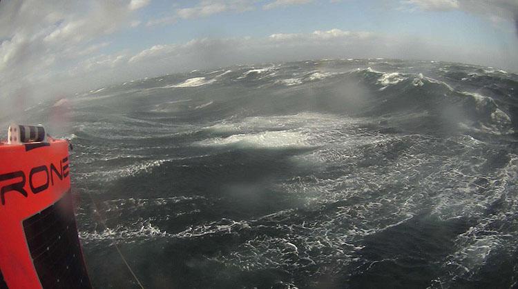 Saildrone selfie southern ocean