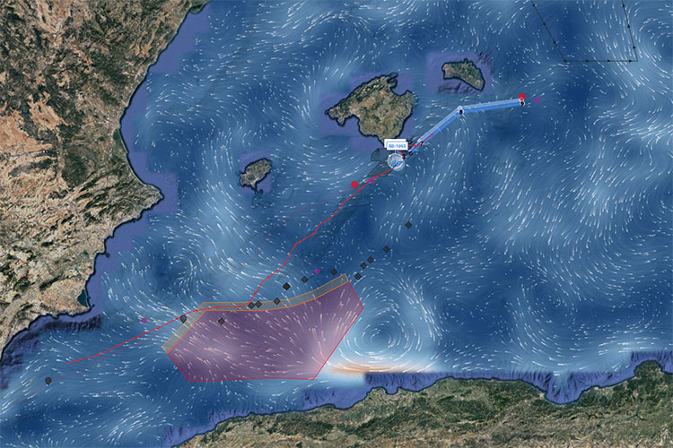 Saildrone Balearic Islands Mediterranean Sea