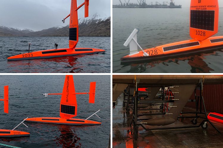 Saildrone optional sensors