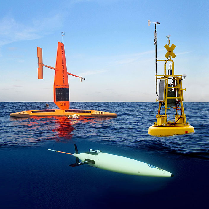 Autonomous Surface and Subsurface Vehicles Work Together to Observe CO2 Exchange in the Adriatic Sea