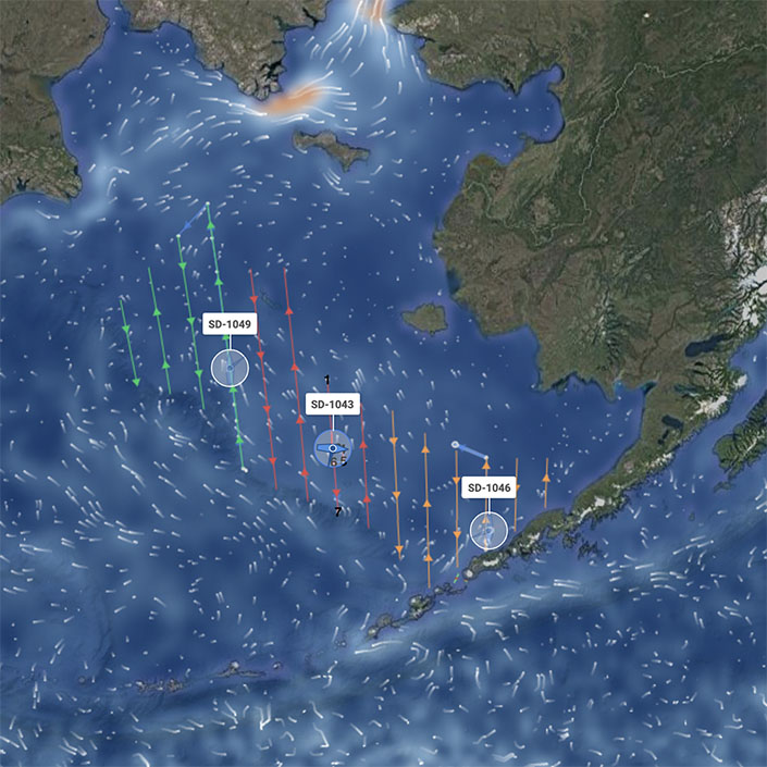 Autonomous Alaska Pollock Survey Begins in the Bering Sea