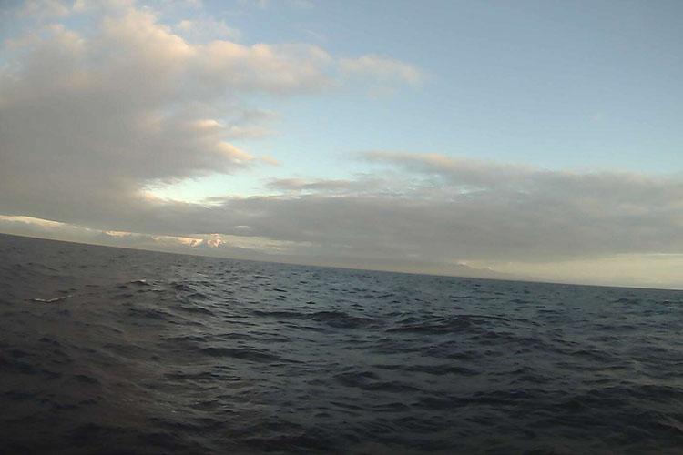 Unimak Island as seen by a saildrone