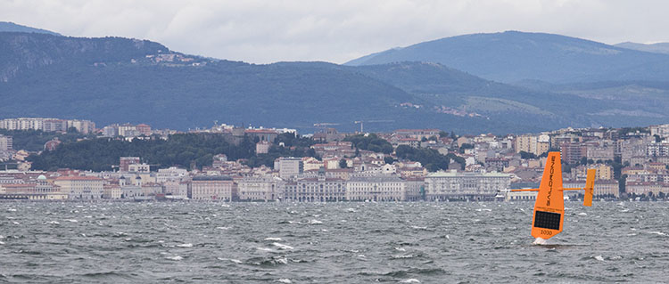 SD 1030 and landscape of Trieste