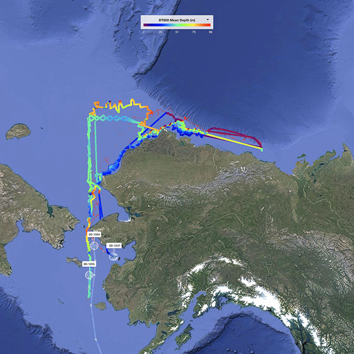 Saildrone Fleet Completes First Arctic Mapping Mission