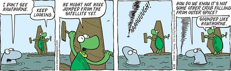 Sherman's Lagoon comic strip September 22, 2020