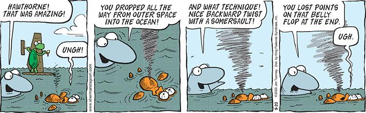Sherman's Lagoon comic strip September 23, 2020