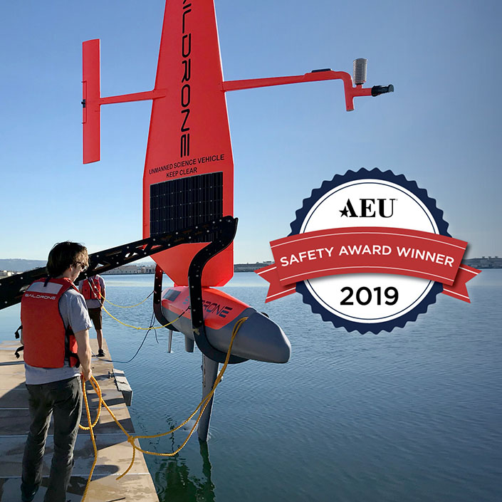 Saildrone Wins National Award for Safety Excellence